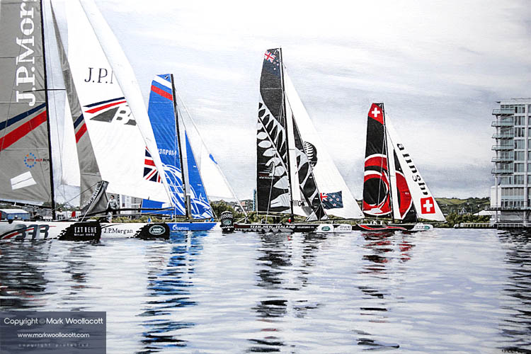 <i>Extreme Sailing Series</i><span>a step-by-step process in images...</span>