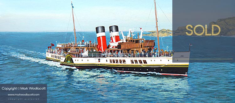 <i>The PS Waverley</i><span>SOLD at Echo Beach Gallery | Sale Price: &pound;600.00</span>