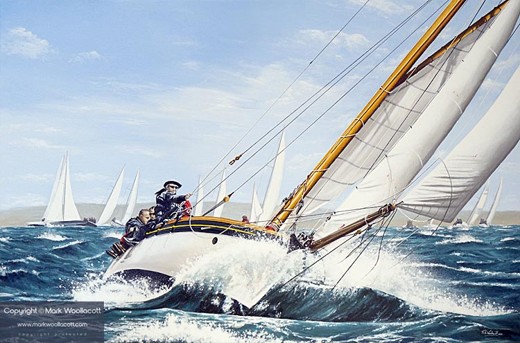 <i>Sophie, Round The Island Race, 2016</i><span>a step-by-step process in images...</span>