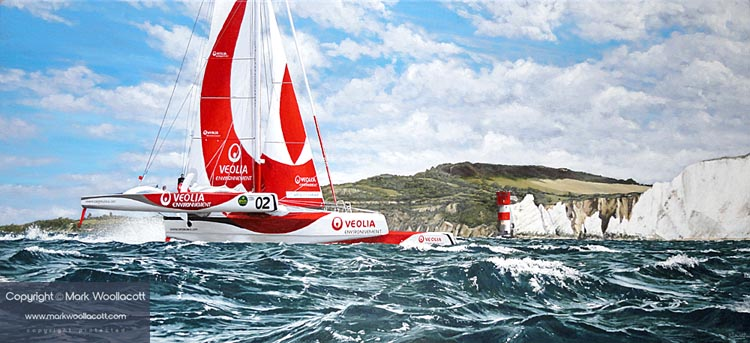 <i>Veolia Environnement Trimaran</i><span>a step-by-step process in images...</span>